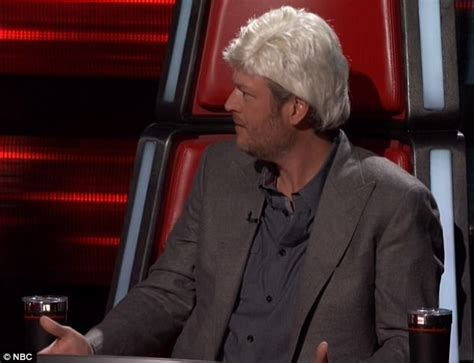 blake shelton height in feet blake shelton goes blonde to mock adam levine on the voice