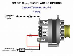Gm Alternator Diagrams  Cs144 Alternator Wiring