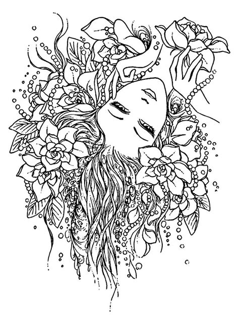 adult pages  anxiety coloring pages