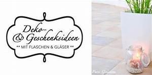 Flaschen Zum Befüllen : deko und geschenksideen mit gl ser flaschen ~ Orissabook.com Haus und Dekorationen