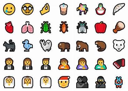 Windows Emoji Build Microsoft Arm X64 Changements