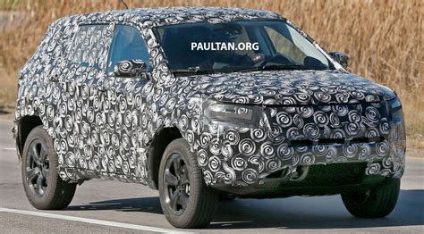 2017 Jeep Patriot Mule by Spied 2017 Jeep Cuv Replaces Compass And Patriot