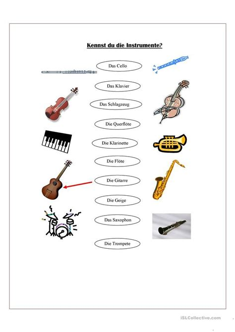 orff instrumente arbeitsblatt  kostenlose daf musik und