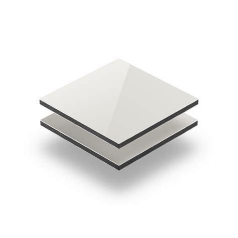 panneau composite aluminium 3mm ivoire plaqueplastique fr