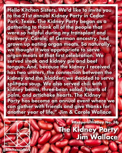 kidney party keeperoftheday keeperofthekidney