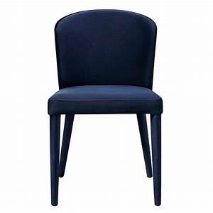TOV Furniture Metropolitan Navy Velvet Chair Set Of 2