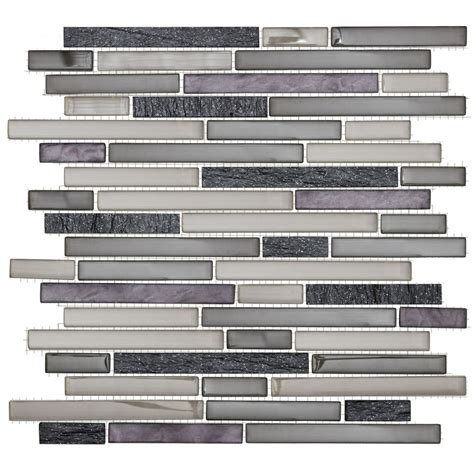 Home Depot Wall Tile Class by Jeffrey Court 13 Inch X 11 3 4 Inch Glass And Quartz