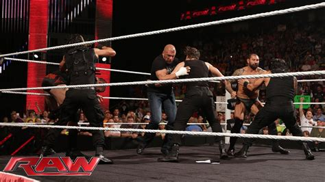 The Shield vs. Evolution WWE Payback contract signing: Raw ...