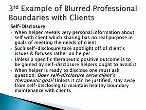 PPT - Maintaining Healthy Professional Boundaries ...