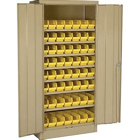 bin cabinet with removable bins bins totes containers bins cabinets locking storage