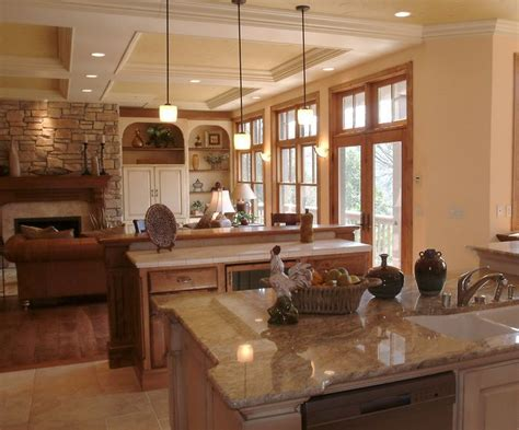 country kitchen ware large open concept country rustic kitchen by ware design 2925