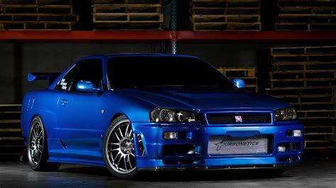 Fast And Furious Hd Wallpapers Nissan Skyline Gtr R34 Wallpapers Group 89