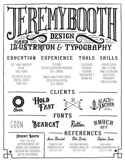 Artsy Resume Templates by Creative Artsy And Resume On