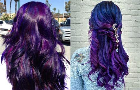 Stylish Upgrade Mysterious Dark Purple Hair