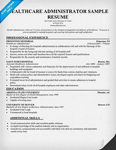 health administrator resume free resume example http With healthcare administration resume samples