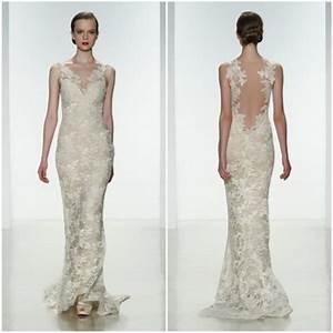Robe De Mariée Dos Nu Plongeant : robe d collet dos dentelle ~ Melissatoandfro.com Idées de Décoration