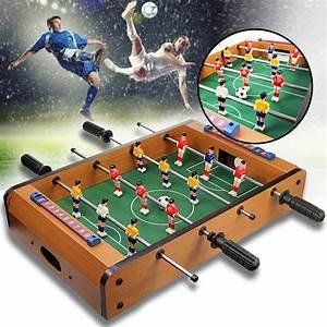 Tisch Aus Holz : tisch kicker aus holz spielspa f r fu ballfans ~ Watch28wear.com Haus und Dekorationen