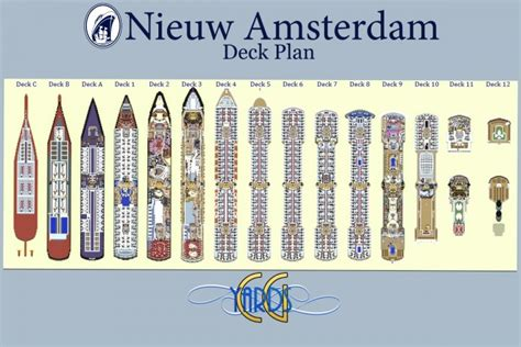 Nieuw Amsterdam Deck Plans by Nieuw Amsterdam 1 1 Scale Cruise Ship Replica