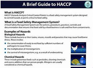 Resource Added - A Brief Guide To Haccp