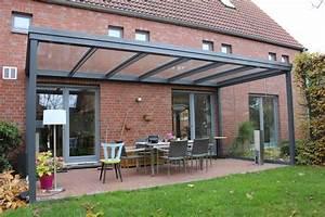 Terrassen berdachung flachdach mit glas for überdachung terrasse glas