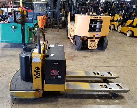2007 Yale Mpe060lf Electric Rider Pallet Jack