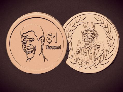 meme coin   model  printable stl cgtradercom
