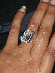 while their engagement and subsequent marriage was kept With 5 million dollar wedding ring