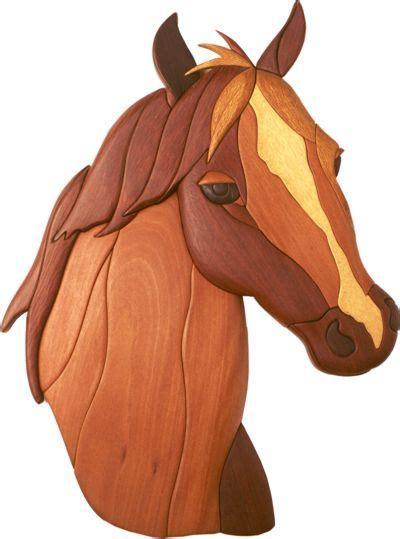 beautiful horse intarsia wood intarsia woodworking
