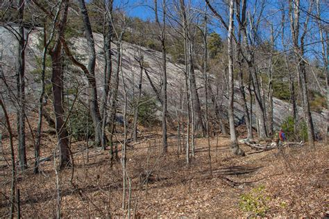 meanderthals cat gap loop  cedar rock pisgah national