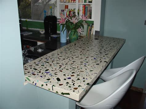 DIY Recycled Glass Countertops   My Daily Magazine   Art