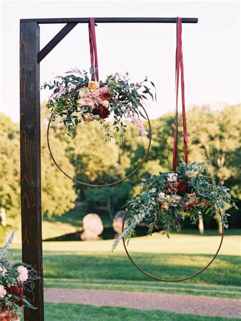 45 diy wedding arbors altars aisles diy