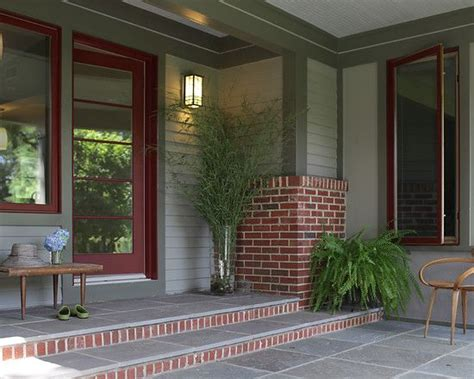possible paint color with red brick like the light gray