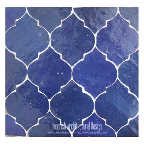 blue arabesque tile arabesque tile moroccan bathroom tile
