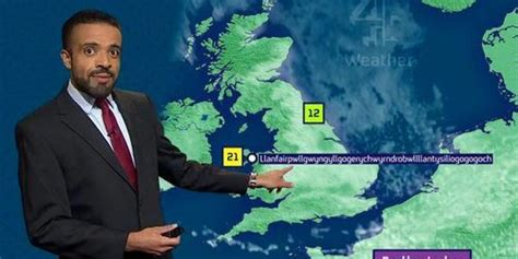channel  weather man liam dutton nails barely