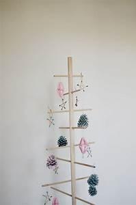 Diy  Simple Dowel Christmas Tree   Cakies