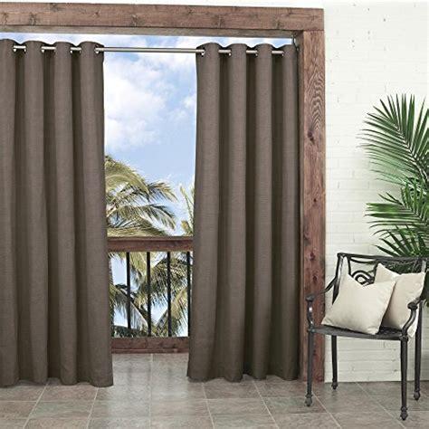 parasol key largo indoor outdoor curtain panel 52 by 95