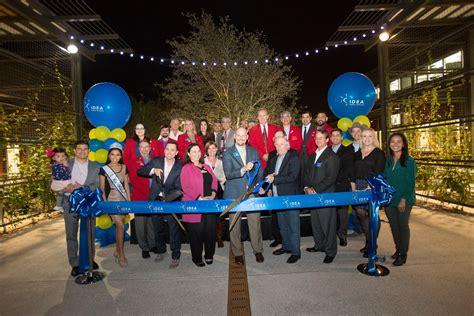 idea celebrates headquarters location ribbon cutting ceremony