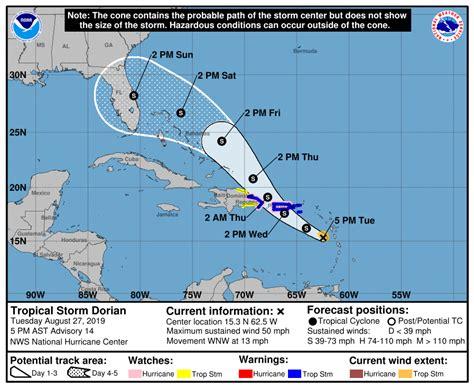 dorian noaa updates   national hurricane center