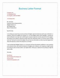 business letter format with subject line http With 4c documents
