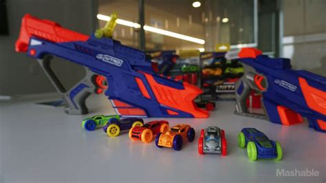 nerf car shooter nerf 39 s newest blasters shoot foam cars not darts