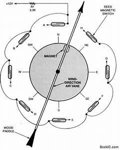 Wind Direction Sensor - Sensor Circuit