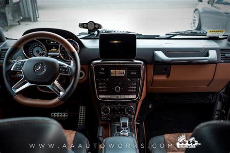 G Wagon Interior Upgrade