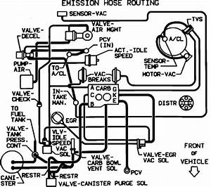 I Need A Vacuum Diagram For Routing New Vacuum Lines On A