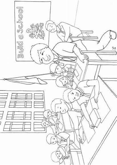 Coloring Pages Class Students Jackie Guizhou Jackiechankids