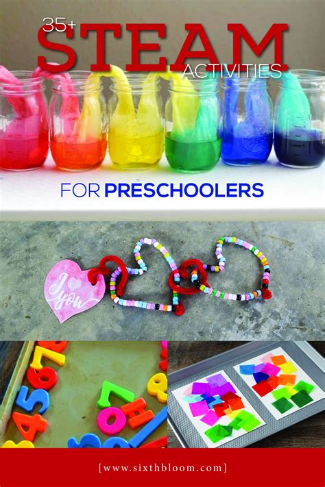 35 steam activities for preschoolers sixth bloom 903 | Pin Mar133