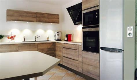 cuisine sans poignee cuisine aménagée réalisations mulhouse
