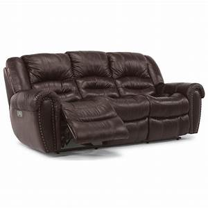 Flexsteel Crosstown 1210 62PH Power Reclining Sofa With