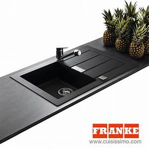 évier En Résine Noir : evier de marque franke sirius 1 bac coloris noir ~ Premium-room.com Idées de Décoration