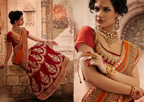 Bridal Lehenga Style Sarees Collection For Indian Wedding