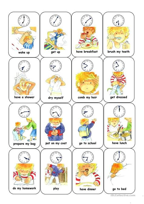 esl action verbs worksheets   kindergarten